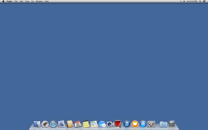 Hide Desktop Icons OS X
