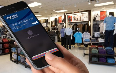 Chase Amazon Rewards Card Apple Pay