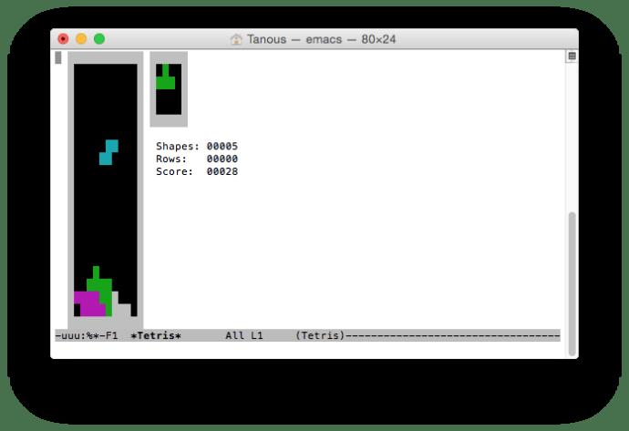 emacs-tetris