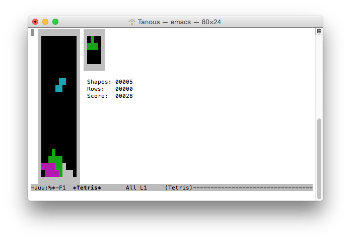 Classic Games Like Tetris and Pong are Hiding on Your Mac