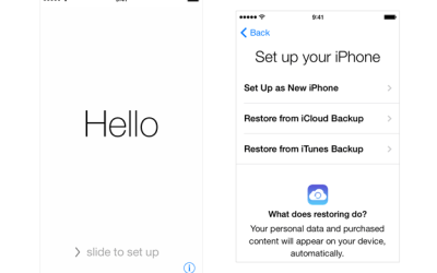 Restore iPhone with iTunes to Factory Settings