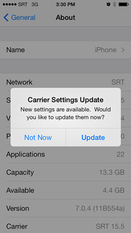 Carrier-Settings-Update