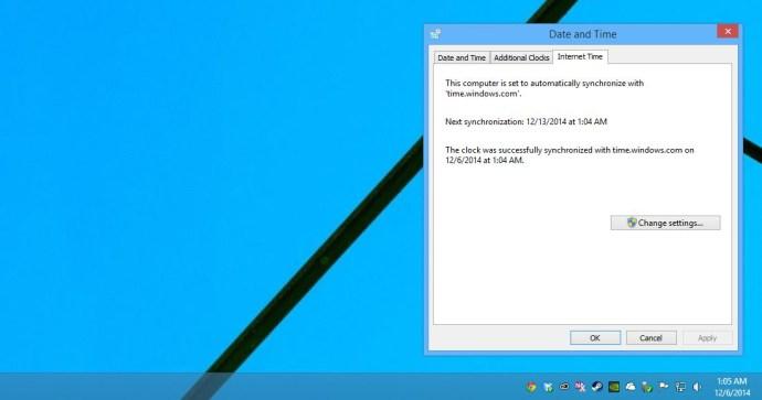 windows-klocka-internet-synkronisering
