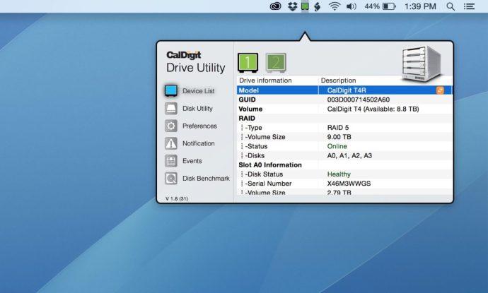 caldigit-drive-utility