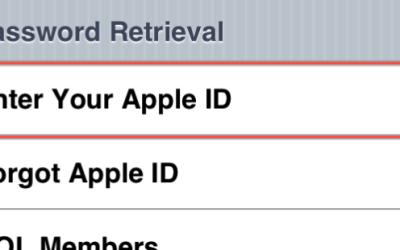 apple id locked forgot password