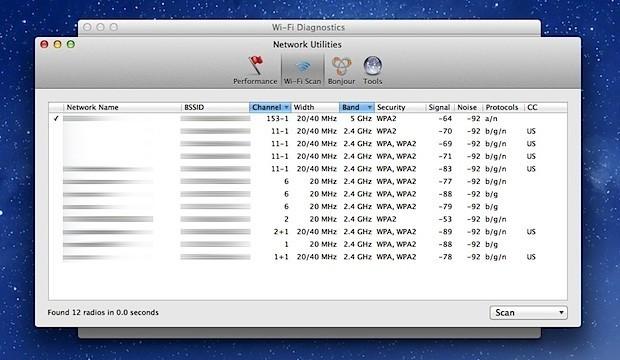 wifi-scanner-mac