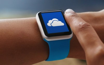 apple watch microsoft onedrive