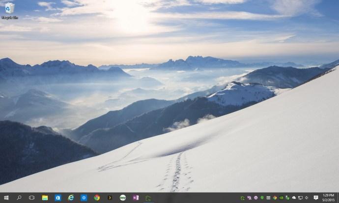 windows 10 desktop notification icons