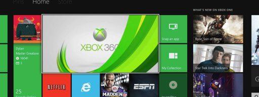 xbox 360 games on xbox one