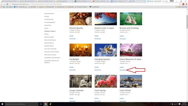 Microsoft-themes-website