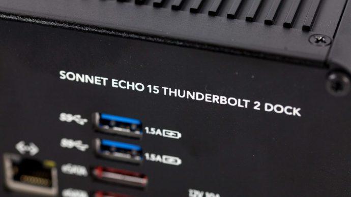 sonnet echo 15+ thunderbolt 2 dock
