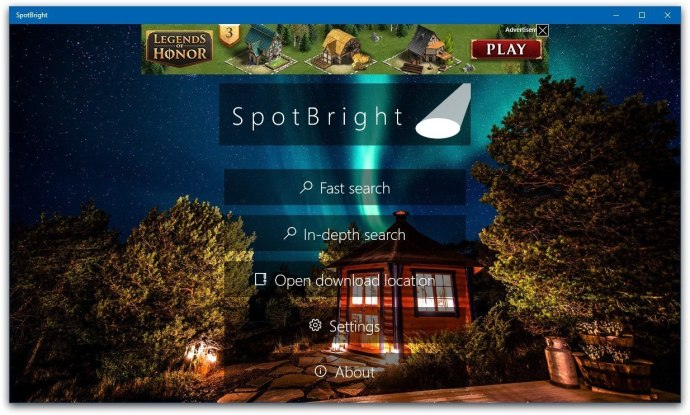 spotbright windows 10