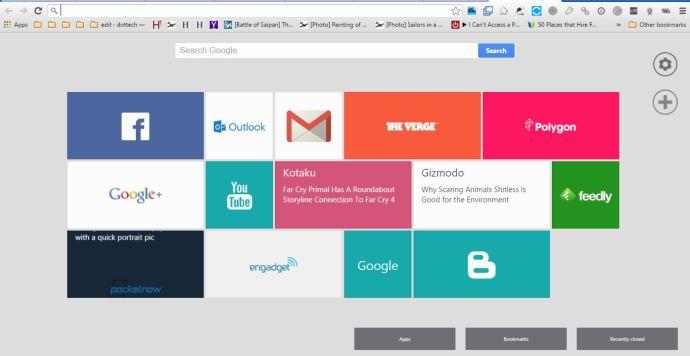 Chrome New Tab 4