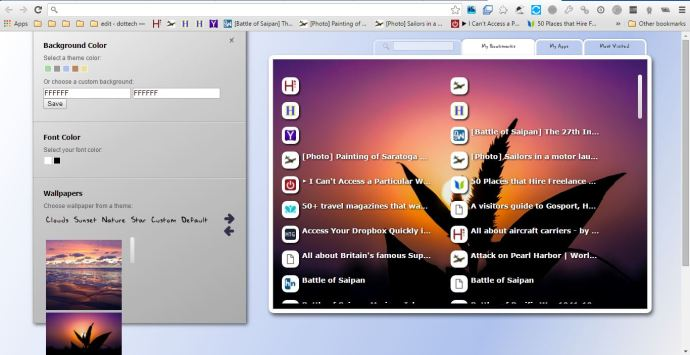 Chrome New Tab2