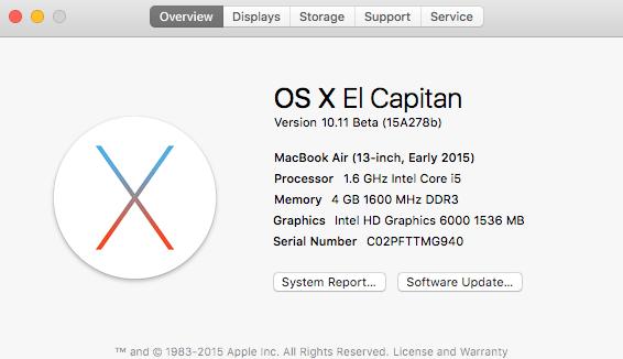 OS X Overview screenshot