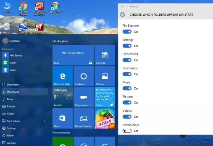 windows 10 start menu2