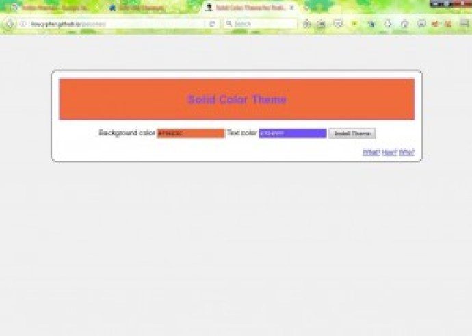 browser themes 10