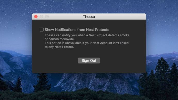 thessa nest protect notifications