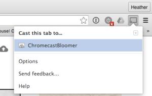 Chromecast Selection
