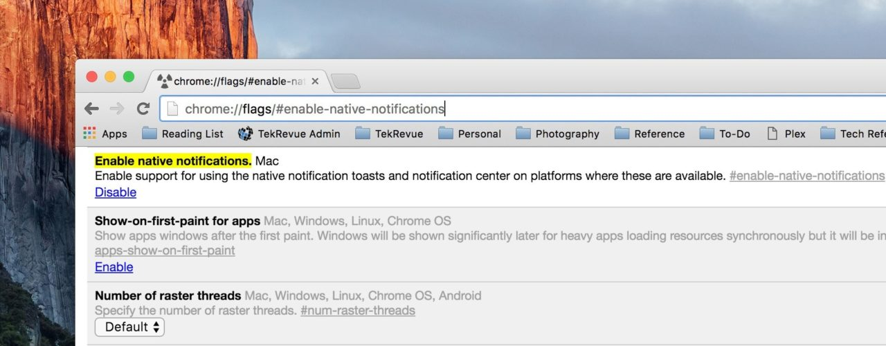How to Test Chrome's Native Notifications for Mac
