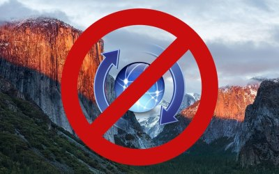 disable automatic updates el capitan