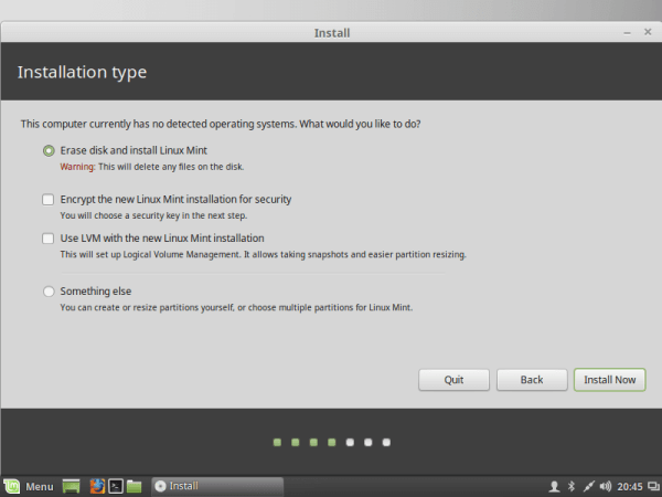 linux-mint-install-type