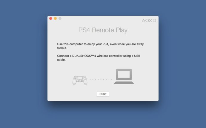 ps4 remote play mac