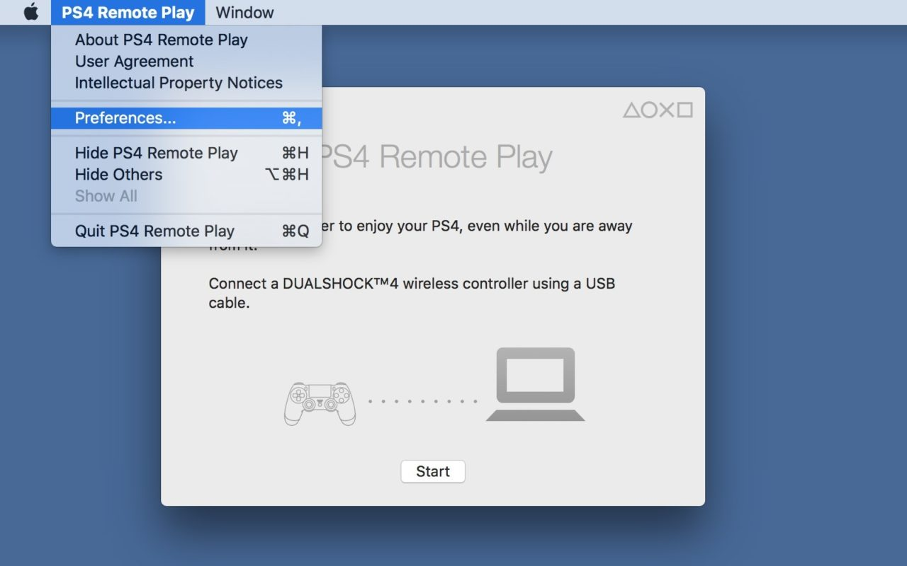 How to Change PS4 Remote Play Resolution & Frame Rate on the Mac