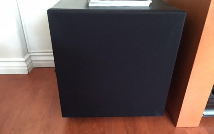 svs soundpath subwoofer installed