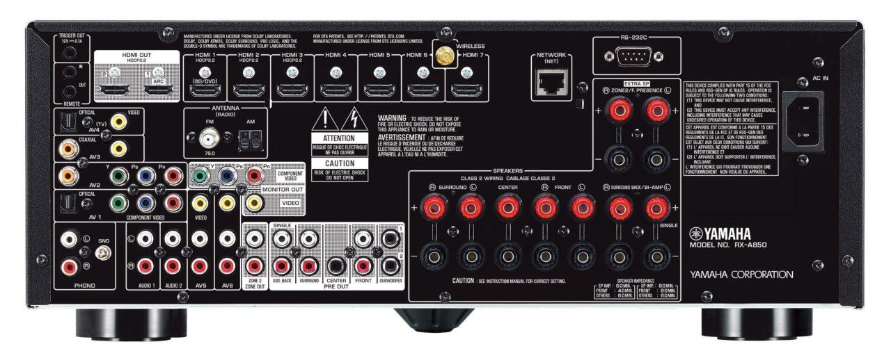 Review: Yamaha RX-A850 4K A/V Receiver
