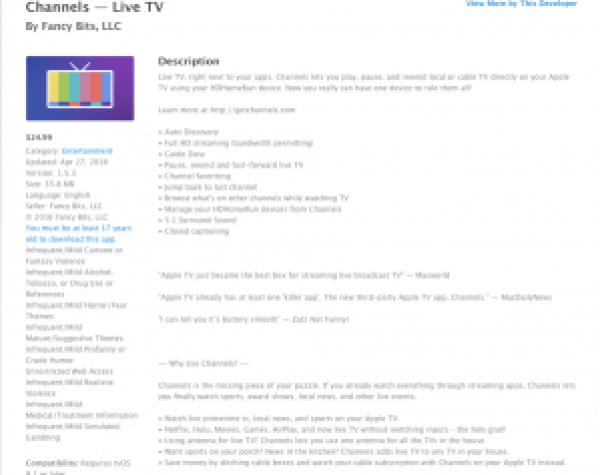 Channels app
