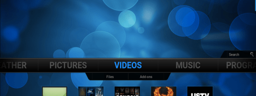 KODI Video shortcuts