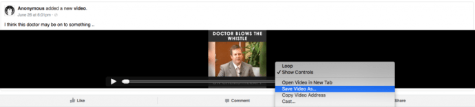 Save video Chrome