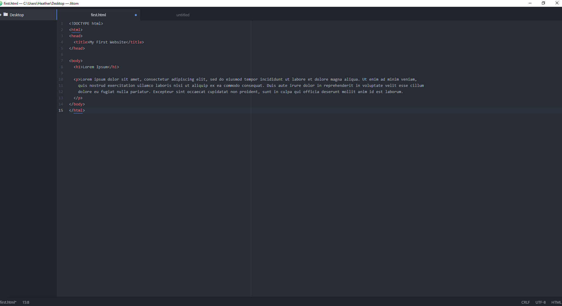 An Overview of the Atom Text Editor