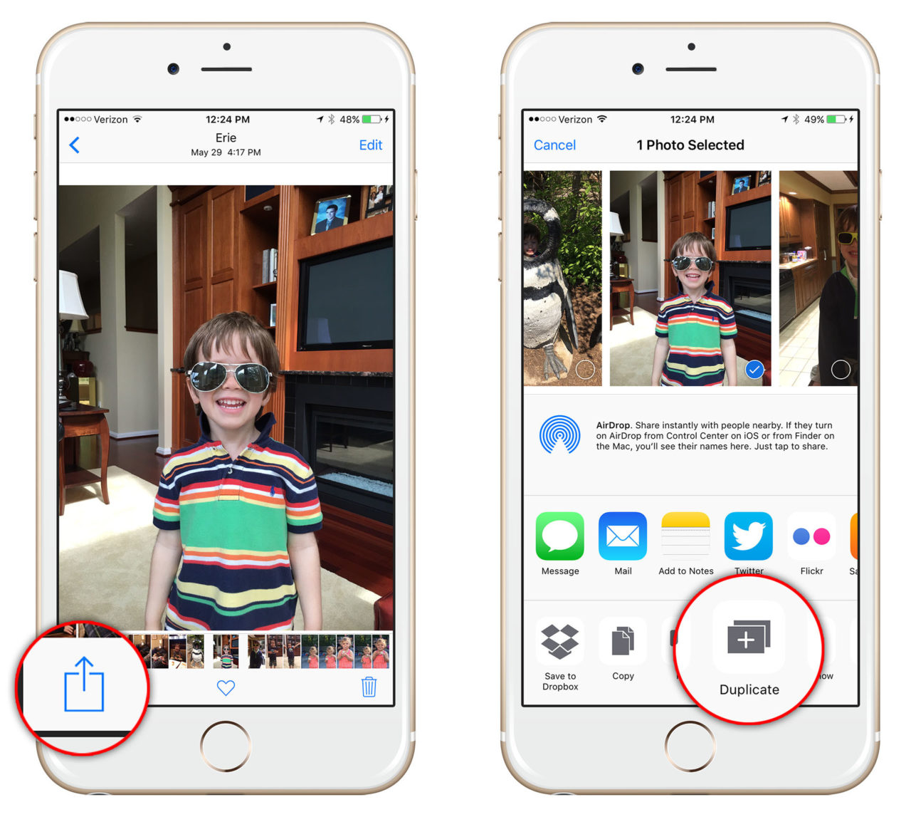 How to Make Duplicate Copies of Your Photos and Videos in iOS