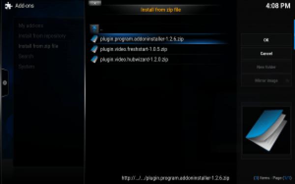 Plugin Program Install