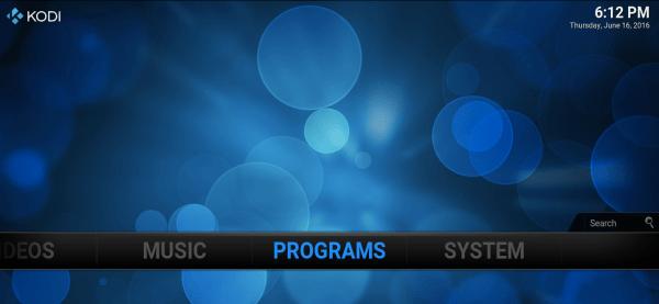 Programs KODI