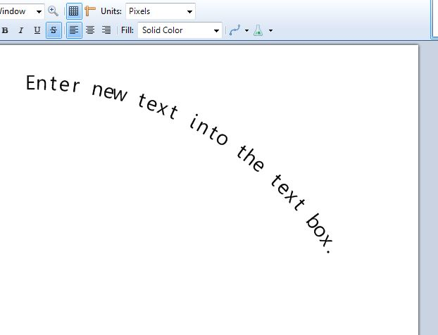 Center Text In Paint Net