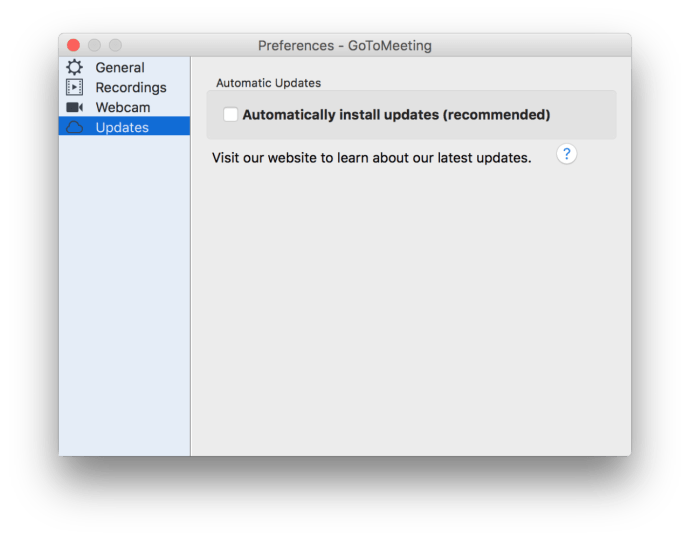 Quick Tip: Remove Old Versions of GoToMeeting for Mac