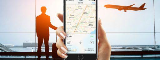 iphone flight info
