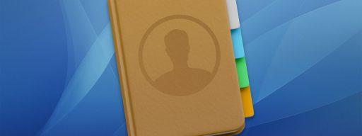 mac contacts app