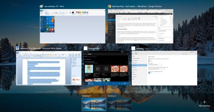 new windows 10 2