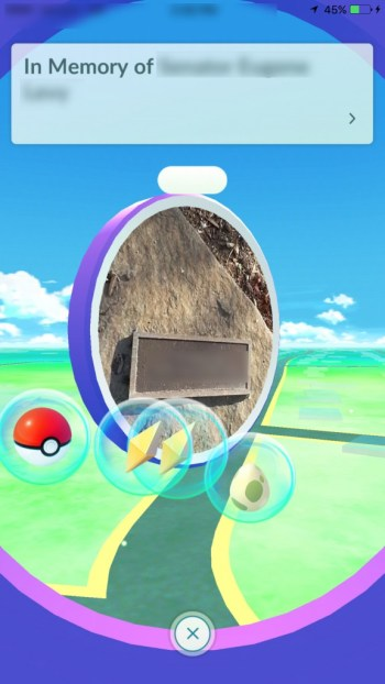 Pokestop items