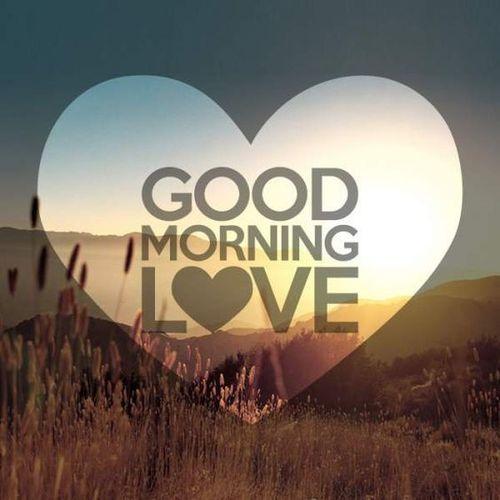 Доброе утро любовь образ