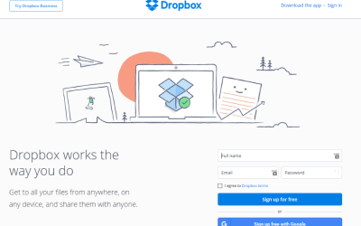 Dropbox and five cool things you can do with it