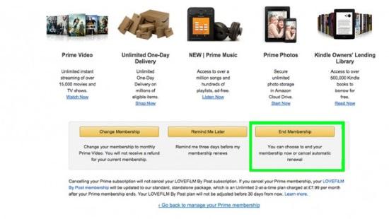 How to cancel Amazon Prime-2