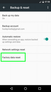 How to fix '4504 message not found' on Android 3