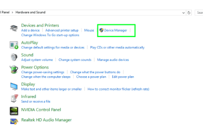 no audio output in windows 10