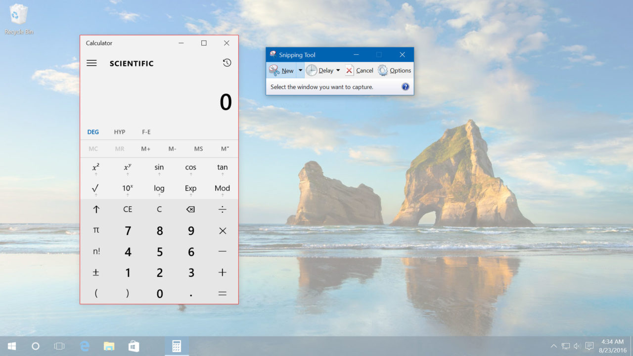 How to Take Windows 10 Screenshots with the Snipping Tool