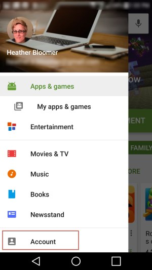 Google Play account